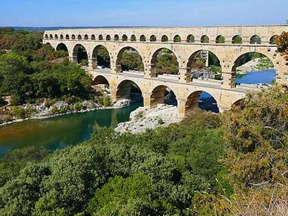 L'incoutornable Pont du Gard pendant vos vacances au gite la Bignone
