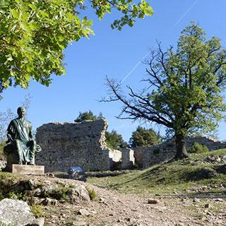 Camp de César à Laudun