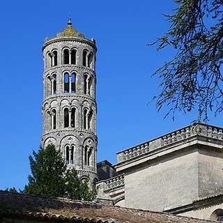 Tour Fenestrelle à Uzès dans le Gard