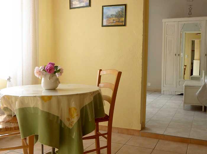 Votre maison d'hote la Bignone vous présente son gite à Laudun